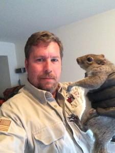 Squirrel Selfie 1